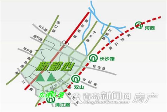 东建大厦,新都心,写字楼,准现房,地铁M3,青岛新闻网