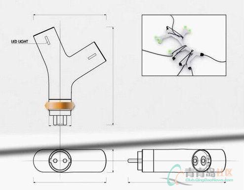分支插座内部结构图