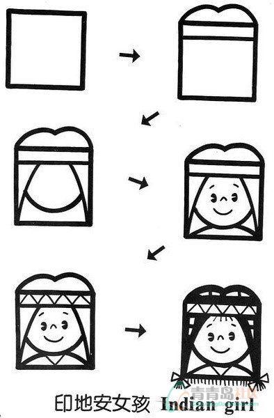 学学简笔画,要不以后怎么教孩子