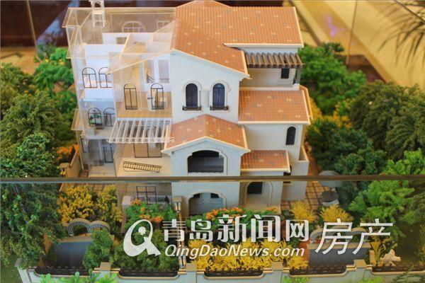 玫瑰庭院265㎡联排别墅b户型模型