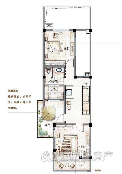 万科青岛小镇-户型-青岛新闻网房产