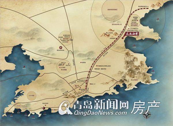 即墨鳌山卫地图