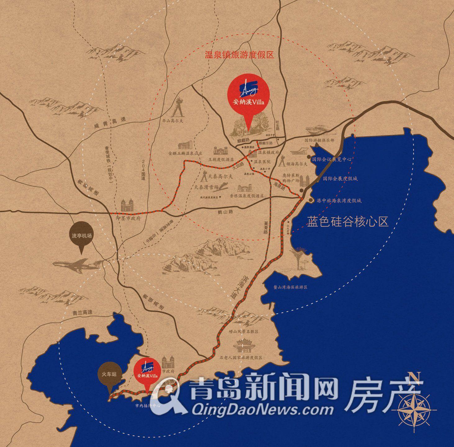 即墨经济开发区地图