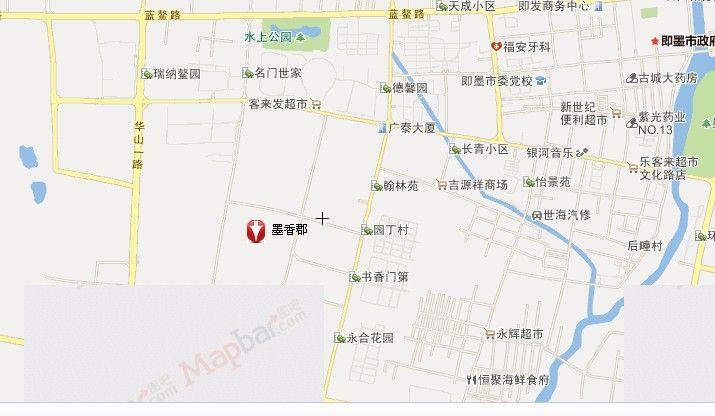 青岛老城区地图