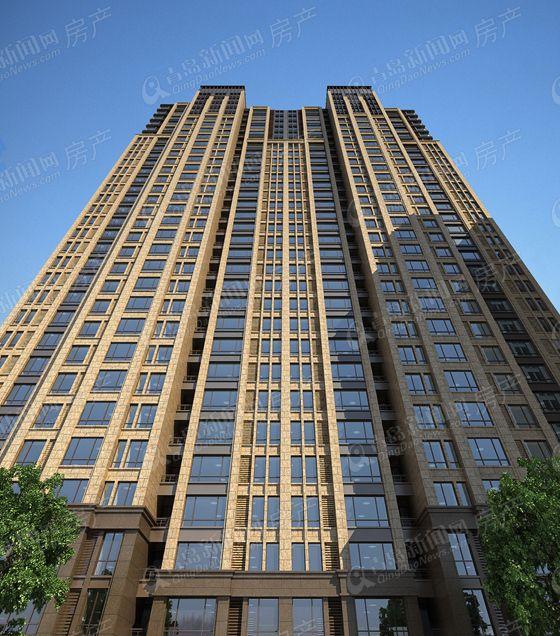 忠观悦府建筑效果图 仅供参考,以售楼处为准 -忠观悦府建筑效果图 图片