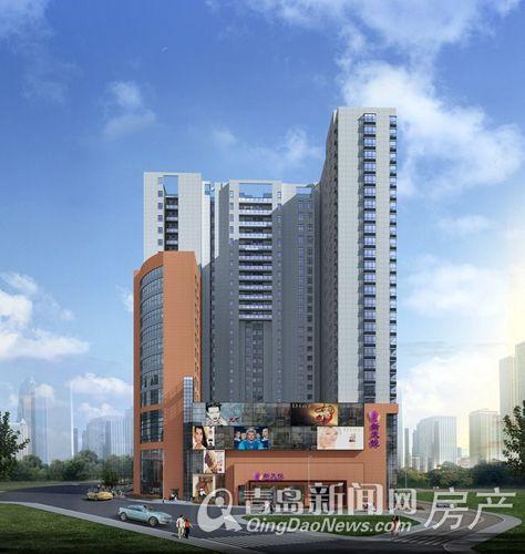 新天悦建筑效果图 仅供参考,以售楼处为准 -新天悦建筑效果图 大图展图片