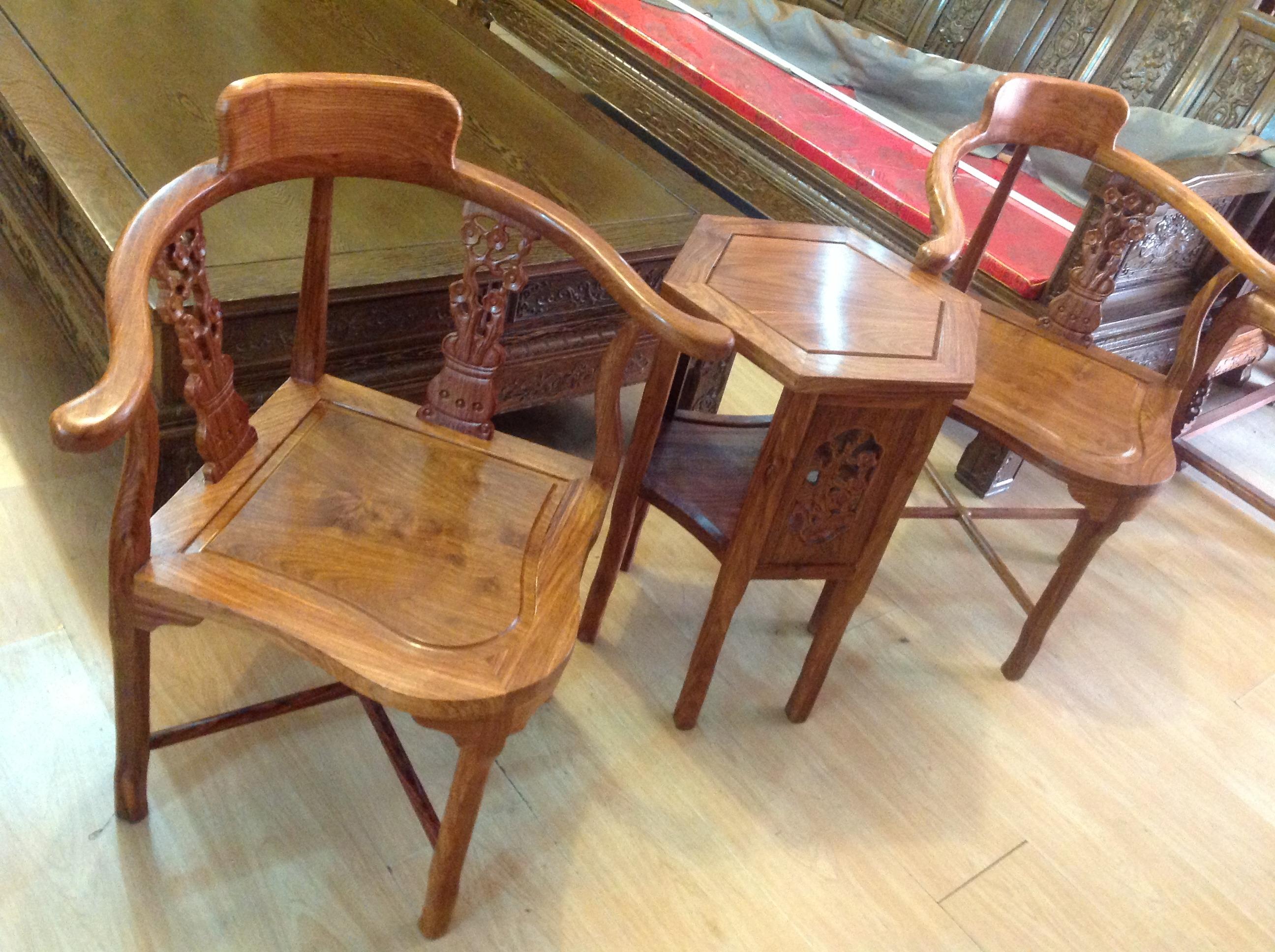 实木家具丨木雕工艺品