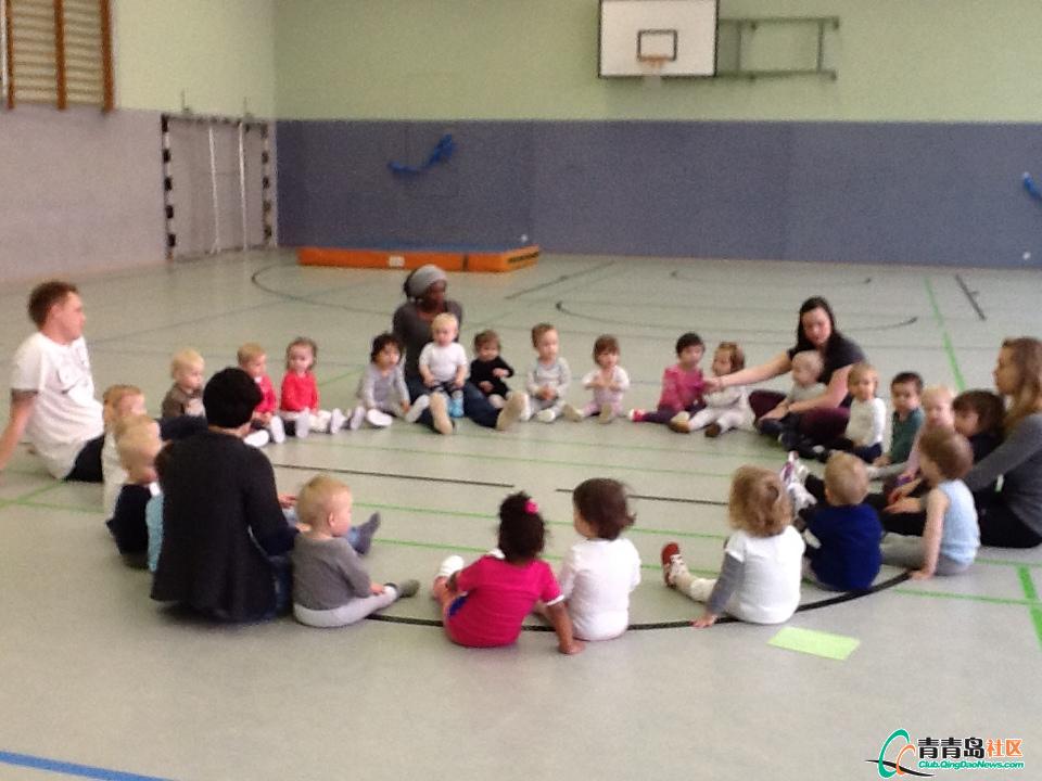 德国幼儿园的孩子
