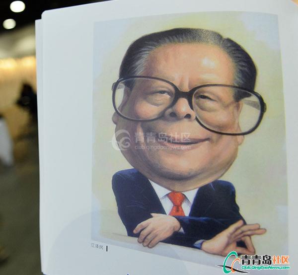 新中国五代领导人漫画像亮相【图】-青青岛社恐怖生漫画孩子图片