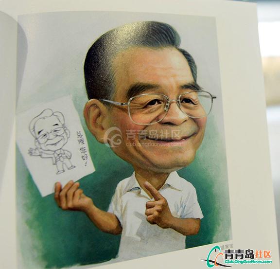 新中国五代领导人漫画像亮相漫cool漫画图片