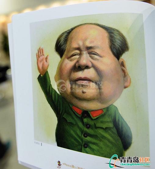 新中国五代领导人漫画像亮相5级漫画作品图片