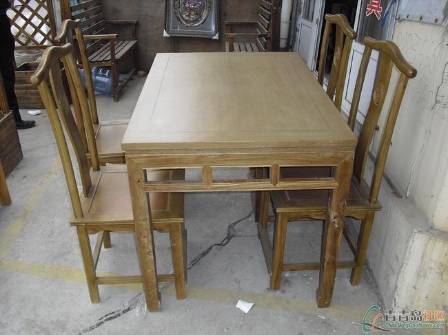 厂家直销个性原生态实木桌椅