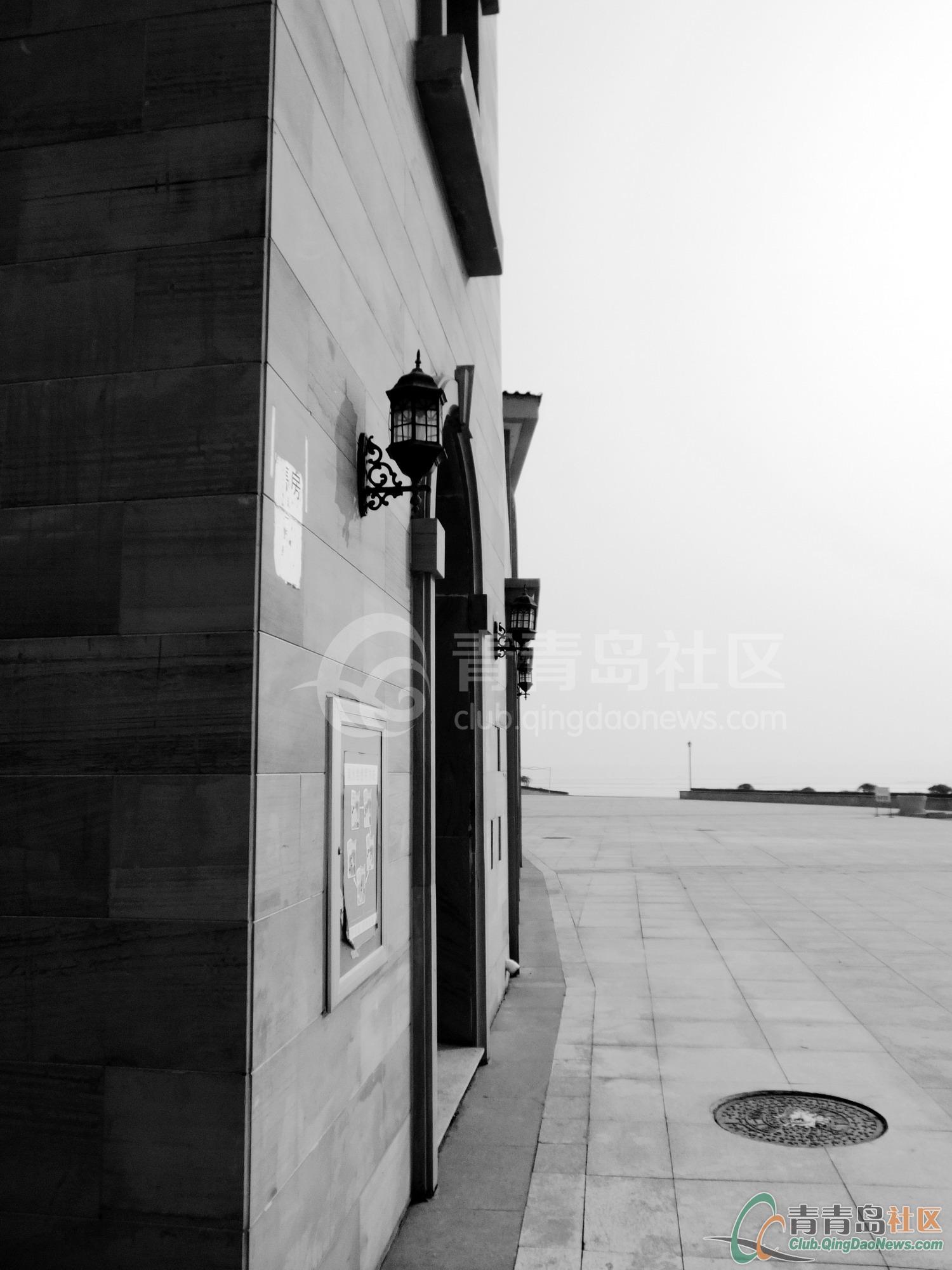 黑白风景.-青青岛社区