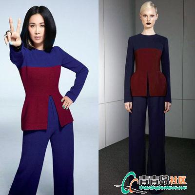 《中国好声音》第二季宣传海报上,那英身穿ports 2013早秋系