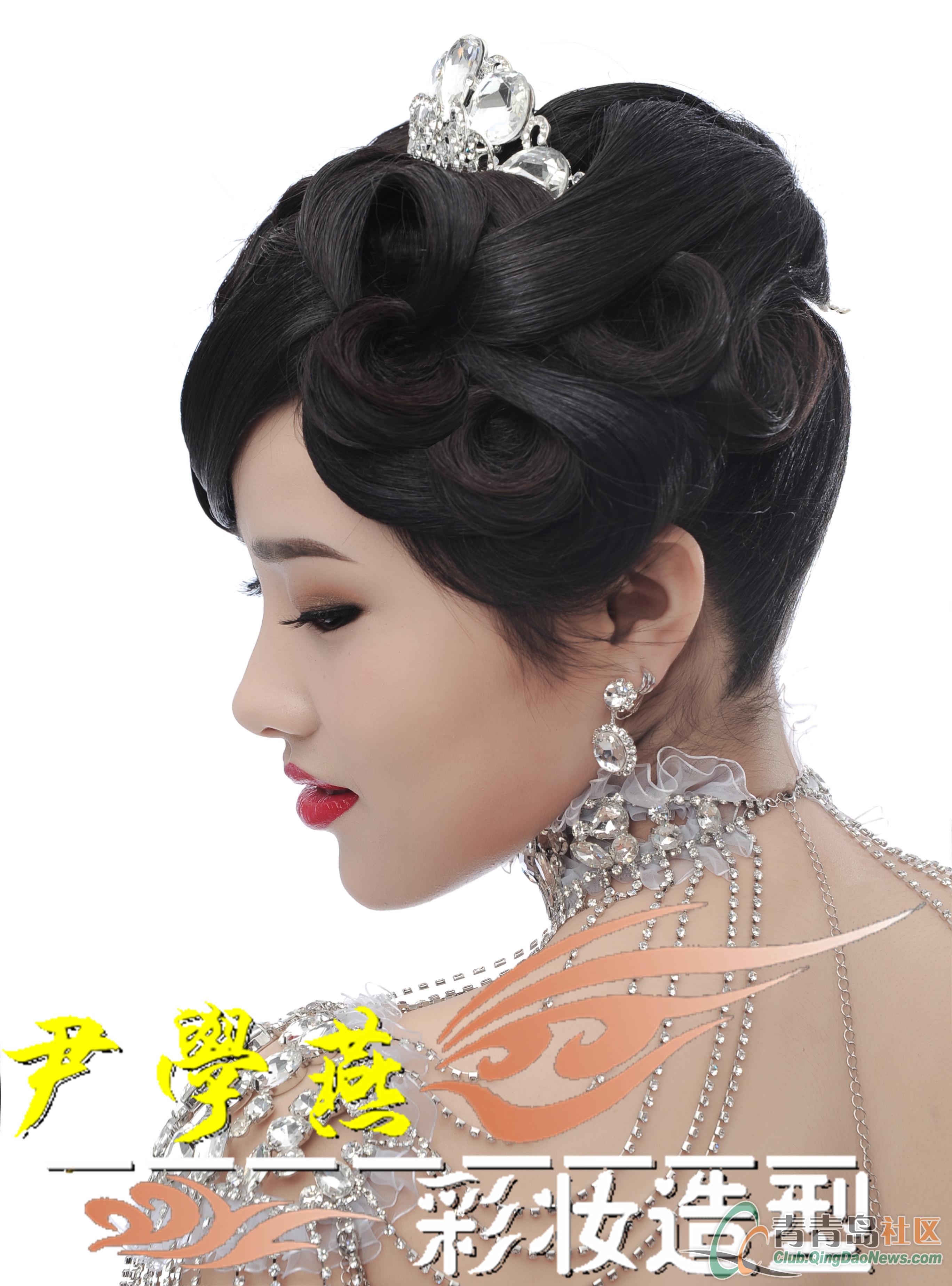 唯美复古中式新娘图片