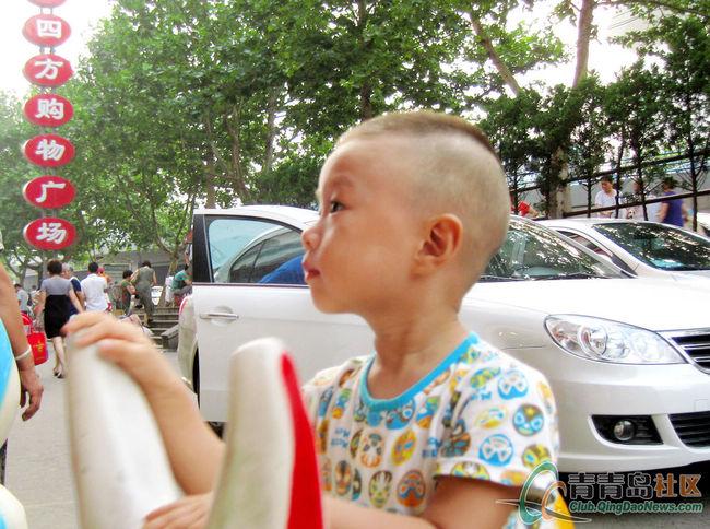夏日锅盖秀宝宝,来个郭德纲图片头发型宝宝岁发型男4图片