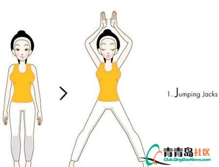 12个v动作动作运动量可媲美跑长跑香港一幕瘦腿霜代言人图片