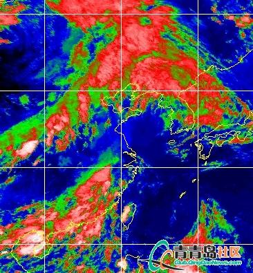 ...力今影响山东 青岛局部有强降雨图片 175174 366x395