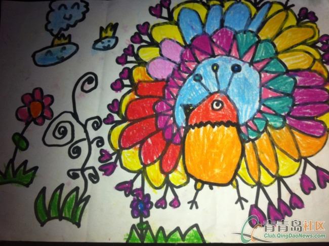 我的幸福家庭 儿童绘画征集