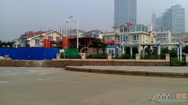 青岛天林别墅几个别墅翻建有v别墅花园?(图层俩手续设计图图片