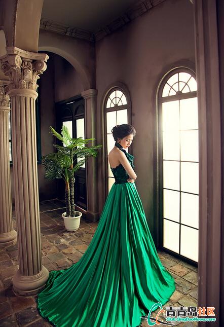欧式宫廷婚纱照到底如何实现奢华风