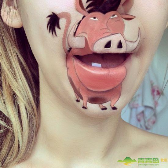 活跃在嘴唇上的小动物 原来嘴唇除了接吻还能干这个