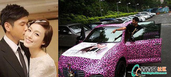 来看看明星结婚都开什么婚车高清图片