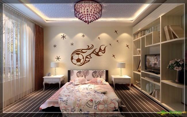绿森林硅藻泥卧室装修的的十大图片展示