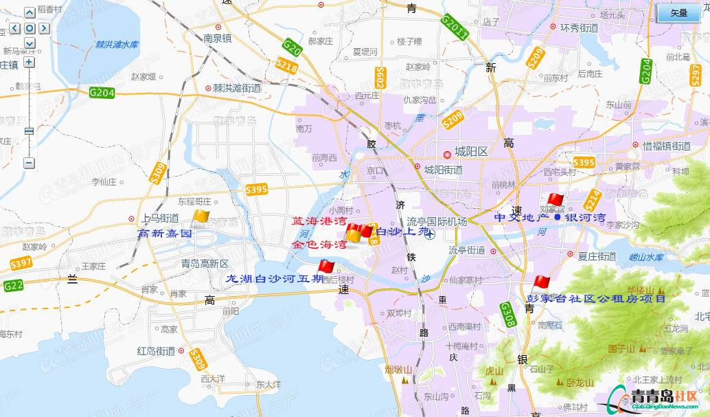 最新:2012年青岛市第二批保障房上市(地图已标注)