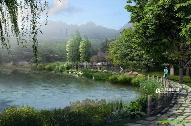 美麟峰景规划图