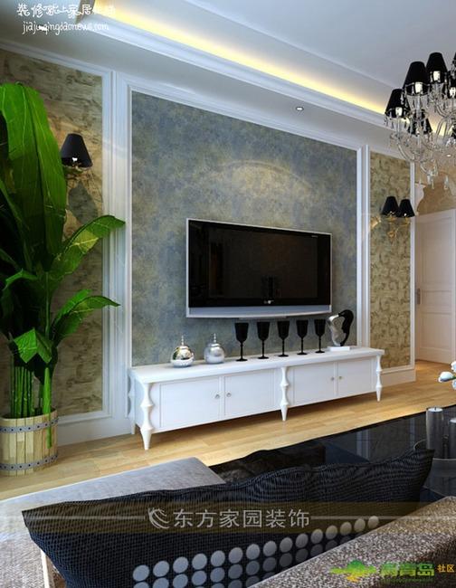 两室两厅一卫全包装修设计效果图 现代风格方案参考