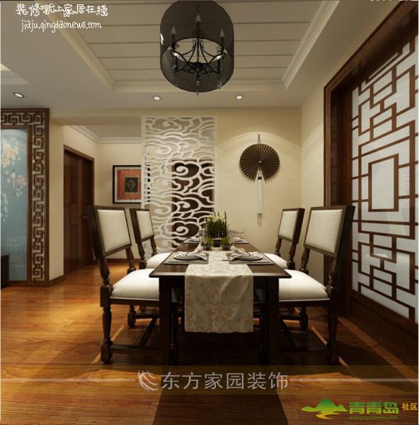 【中广宜景湾96平】新中式风格装修设计图|专业施工