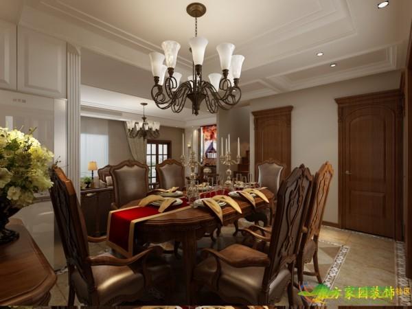美式风格装修设计效果图--青岛东方家园装饰青岛装修