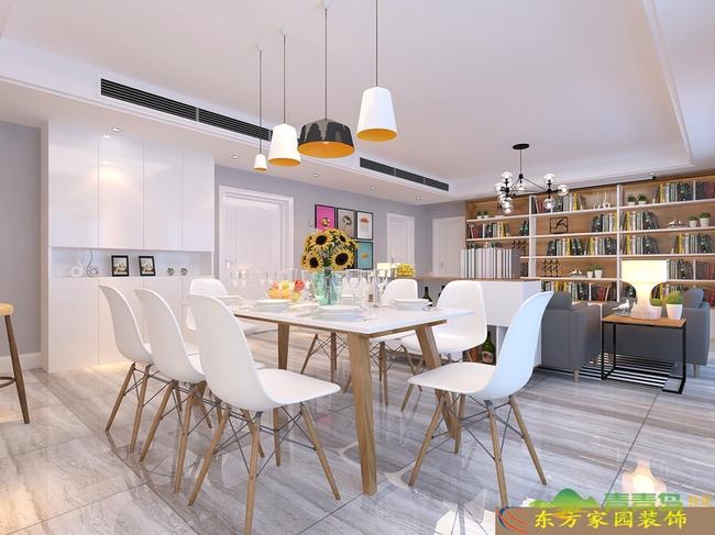 即墨鳌山卫济南山大青岛校区教师公寓 大宅户型220平北欧风格装修效
