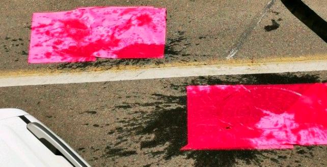 福州路上裝上了震蕩車道 繁華市區裝這個合適嗎?