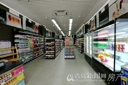中欧国际城,创享街区,乐活超市