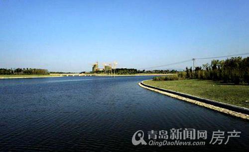 高新,祥茂河,实景图