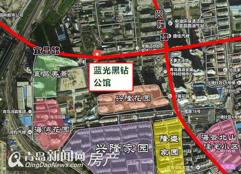 蓝光黑钻公馆,市北,宜昌路16号,开盘,青岛新闻网