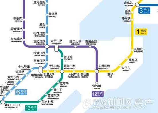 地铁规划,M1,西海岸