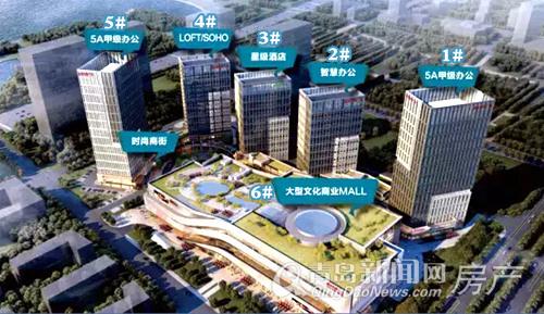 城市传媒广场,西海岸,唐岛湾,写字楼,青岛新闻网