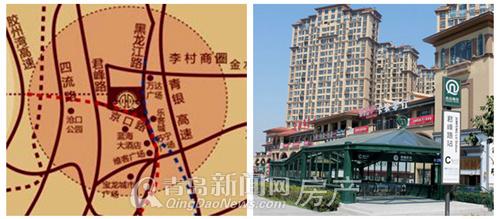 青岛商铺,地铁,商圈,康太源尚誉