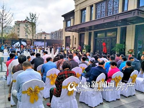天泰书院壹号,售楼处开放,李沧新盘,青岛新闻网房产