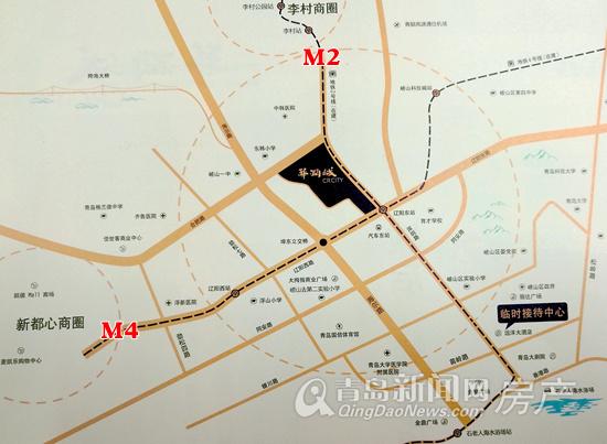 华润城,新盘,区位图
