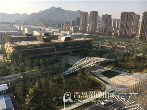 万达东方影都,公寓,商铺,国际秀场主体结构封顶,青岛新闻网