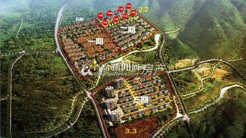大溪谷,小珠山,东方影都,万达茂,小高层,养生别墅,青岛新闻网