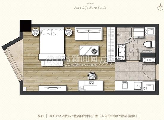 中欧国际城,公寓,户型图