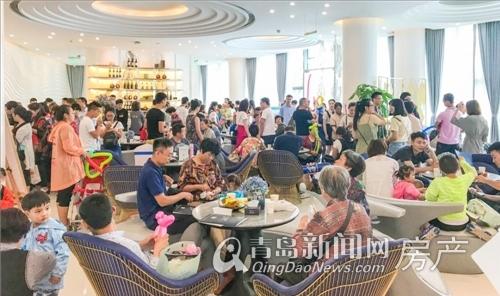 世茂悦海,营销中心开放,黄岛,青岛新闻网
