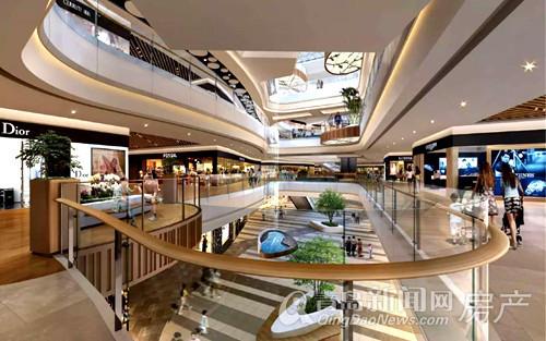 城市传媒广场,文化mall,效果图