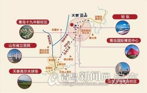 天泰蓝山,配套规划,青岛新闻网房产