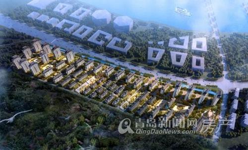 海信花街小镇,营销中心,9.2开放,青岛新闻网